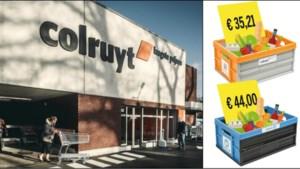 Afhaal-Colruyt (veel) duurder dan fysieke winkel