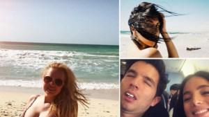 Gluren bij BV's: Lesley-Ann Poppe deelt levenswijsheid in bikini, Matteo Simoni toont zich van zijn grappigste kant