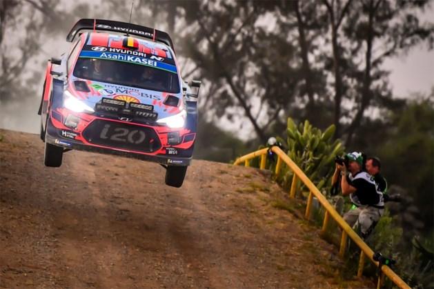 Thierry Neuville schuift op naar vierde plaats in Rally van Mexico, wereldkampioen Sébastien Ogier blijft op kop