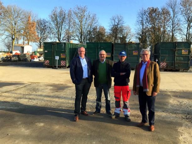 Containerpark blijft gewoon in Opheers