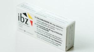 Belg laat gratis jodiumpillen liggen: nog 40 miljoen tabletten op overschot