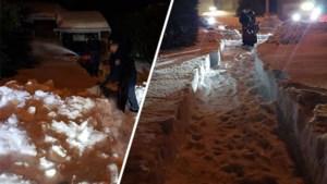 Canadees zit hele winter vast in huis door metershoge sneeuw, politie moet anderhalf uur graven om hem te redden