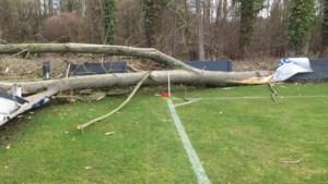 Dertien wedstrijden uitgesteld wegens storm