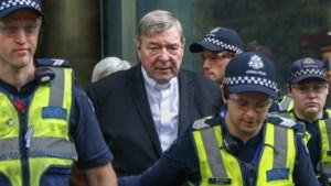 Zes jaar cel voor Australische kardinaal George Pell wegens pedofilie