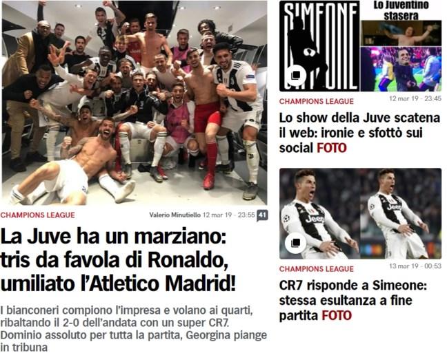 """Pers over Ronaldo: """"Als hij naar de Champions League-trofee kijkt, wordt hij een speler van een andere planeet"""""""