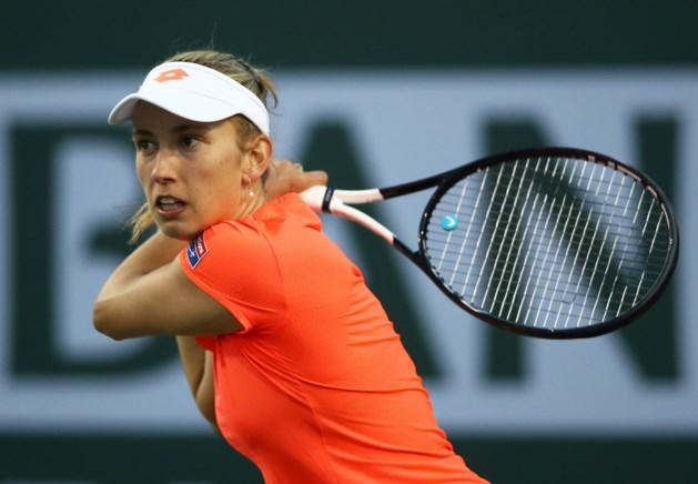 Elise Mertens staat in finale dubbelspel van toptoernooi Indian Wells