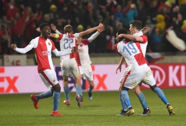 Genk-killer Slavia Praag knikkert recordwinnaar Sevilla uit Europa League