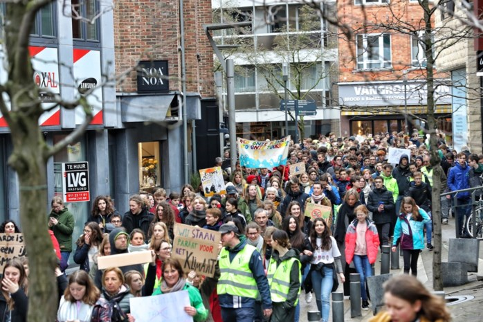 140 deelnemers voor klimaatmars in Lommel