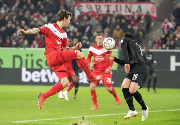 Benito Raman levert Düsseldorf geen punt op tegen Wolfsburg van Koen Casteels