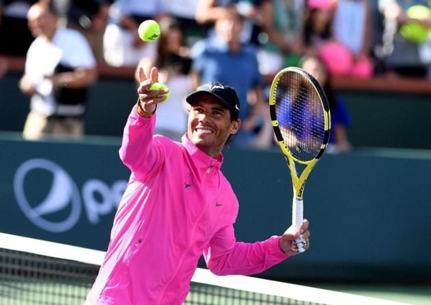 Nadal geeft forfait voor halve finale tegen Federer op ATP Indian Wells