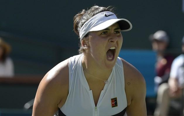 Achttienjarige sensatie Andreescu verslaat Kerber in finale Indian Wells