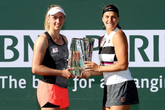Elise Mertens wint samen met Sabalenka dubbelspel van toptoernooi Indian Wells
