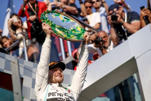 Valtteri Bottas tijdens GP van Australië verkozen tot 'Driver of The Day'