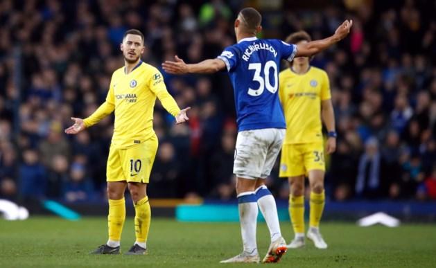 Chelsea doet slechte zaak in de strijd om een Champions League-ticket