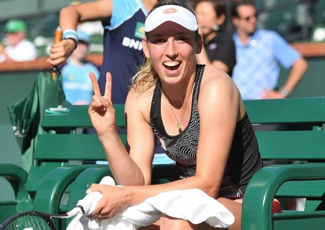 Elise Mertens stijgt naar veertiende plaats op WTA-ranking
