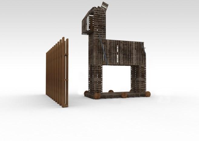 Truiense Tom Herck werkt aan kunstproject voor Burning Man