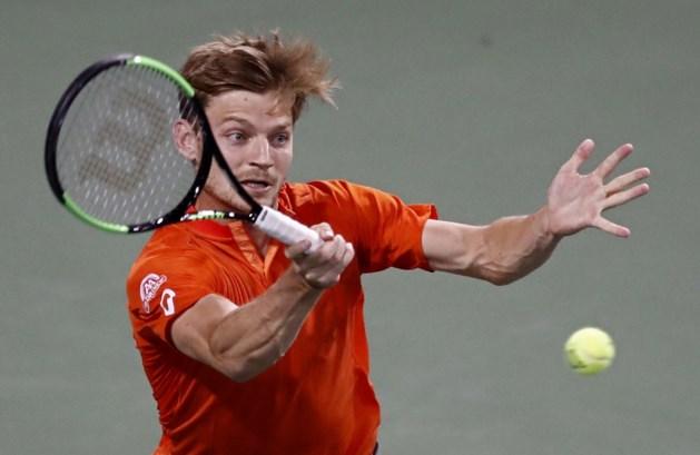David Goffin wint ondanks vroege uitschakeling toch een plaats op ATP-ranglijst