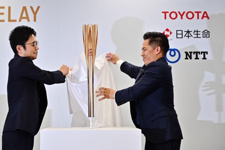 """Olympische toorts van Tokio 2020 onthuld: de vorm van een """"sakura"""" en eerbetoon aan Fukushima"""