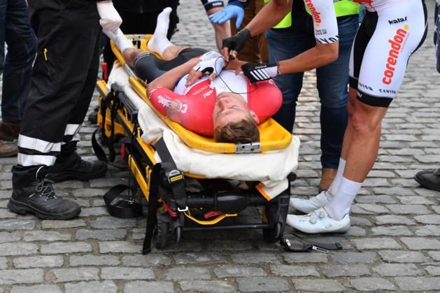 """Geen breuken voor Mathieu van der Poel na zware val: """"We zijn aan een ramp ontsnapt"""""""
