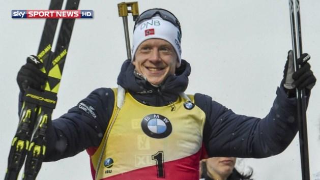 WB biatlon: Boe evenaart record van Fransman met veertiende WB-zege van het seizoen