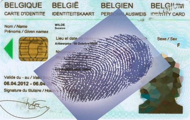 Experts maken brandhout van vingerafdrukken op identiteitskaarten