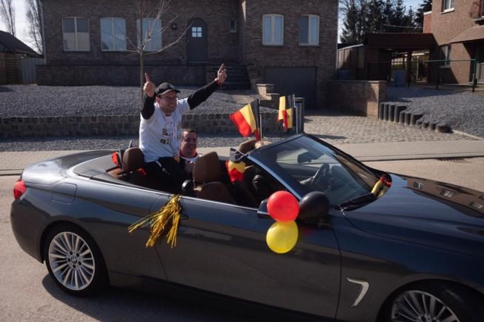 """Gouden Special Olympiër Benny Jans feestelijk onthaald in Tongeren: """"Ich had het ooch nie verwacht"""""""