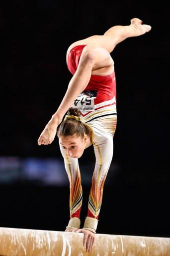 Nina Derwael pakt ook nog zilver op de balk