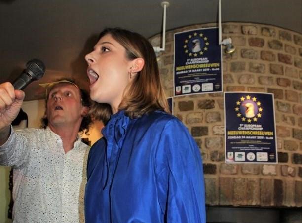 Hasseltse is allereerste Europese kampioen meeuwenschreeuwen, en dat klinkt zo