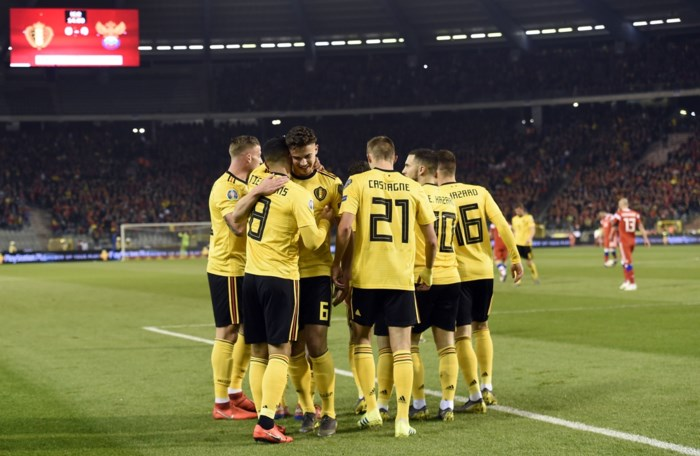 Wat is er veranderd bij de nationale ploeg sinds de eerste interland van Eden Hazard?