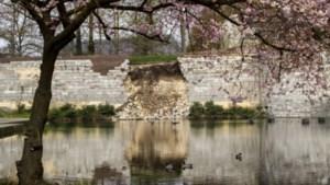 """Deskundigen: """"Maastrichtse stadswal heeft groter deel schade opgelopen"""""""