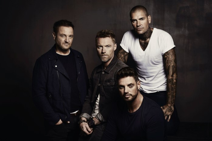 Ierse band Boyzone besluit afscheidstournee in Hasselt