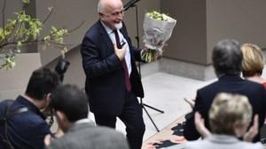Jan Peumans gehuldigd voor tienjarig voorzitterschap Vlaams Parlement