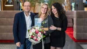 Peltse Lynn Van Hoof van Zorgcentrum Sint-Jozef is dé Ster op de Werkvloer bij Joe