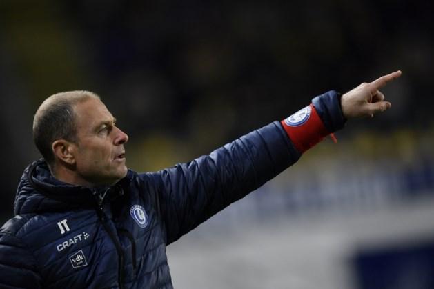 """AA Gent-trainer Jess Thorup verheugt zich op boeiende play-offs: """"Iedereen kan van elk team winnen"""""""