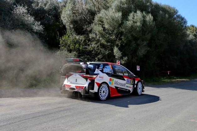 Thierry Neuville schuift in Rally van Corsica op naar tweede plaats