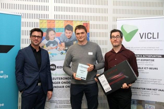 Jonas Nackaerts is ICT-coördinator van het jaar
