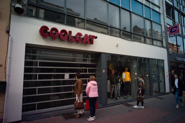 CoolCat sluit alle winkels in België