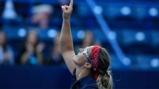Kirsten Flipkens draagt zege in achtste finale WTA Monterrey op aan grootmoeder die vijf jaar geleden overleed