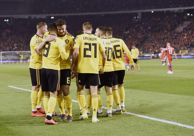 Rode Duivels prijken voor zesde keer op rij bovenaan FIFA-ranking