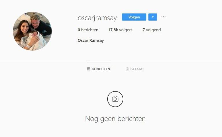 Vijfde kind voor Gordon Ramsay en het heeft al een Instagram-account