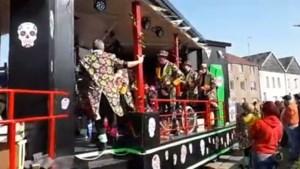 5000 toeschouwers op de been voor carnavalstoet van De Kaver