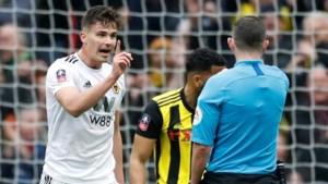 Horrornamiddag voor Dendoncker: geen FA Cup-finale door strafschopfout in blessuretijd