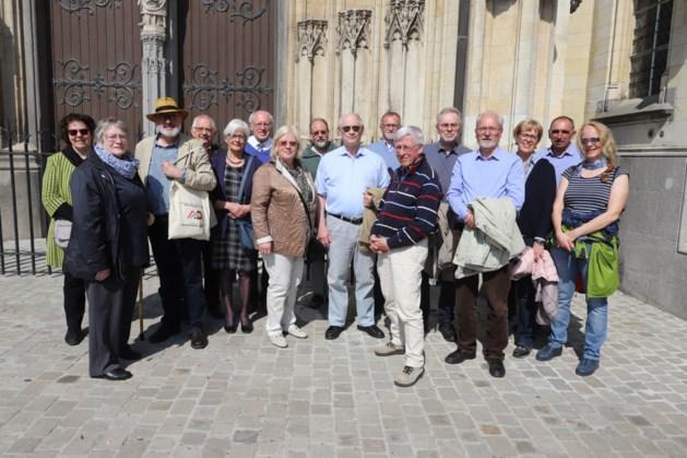 Duits en Nederlands gezelschap bezoeken het Teseum in Tongeren