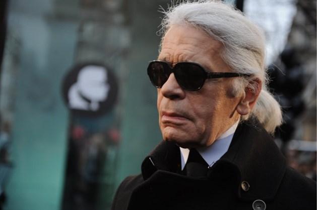 Unieke schetsen van Karl Lagerfeld worden geveild