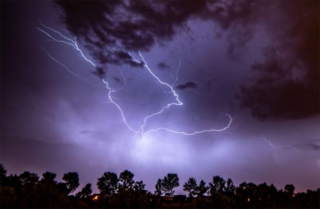 KMI waarschuwt voor fel onweer: ook Limburg ontsnapt niet