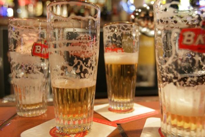 Biersmokkelaar verraden door overladen bestelwagen
