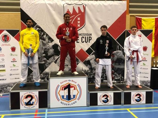Kenneth Gabriels pakt brons op 3th international Amsterdam karate cup