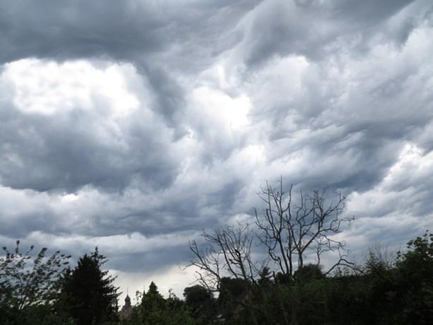 Vandaag weer kans op hevige onweersbuien