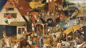 Waarom Bruegel 125 spreekwoorden in één schilderij propte