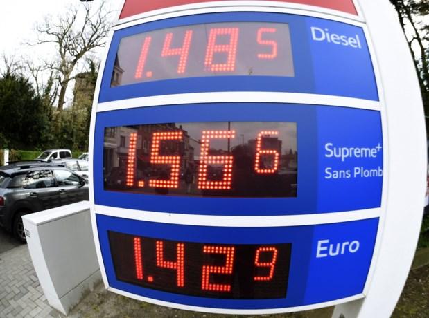 Dieselprijs stijgt naar hoogste niveau dit jaar